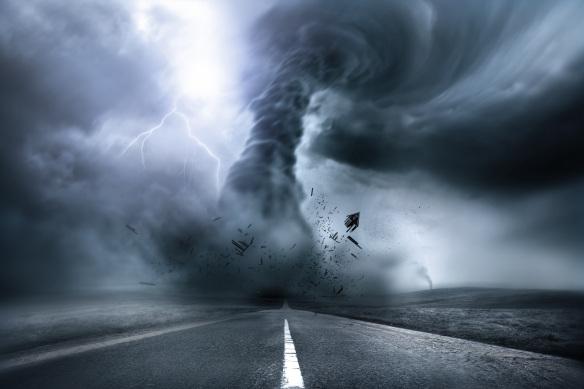 Destructive Powerful Tornado